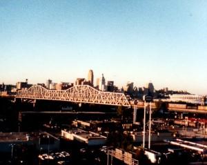 Cincinnati, from Covington, Kentucky