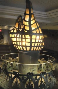 Original Statue of Liberty Torch