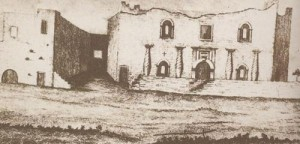 The Alamo, 1840, by Moore