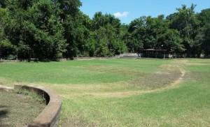 Lockhart State Park pool outline