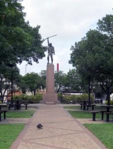Milam Statue, Milam Park, San Antonio