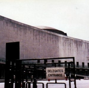Delegates' Entrance to the United Nations, 1988