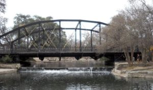 St. Mary's Steet Bridge, Brackenridge Park, San Antonio, Texas
