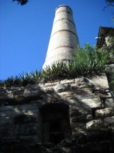 Alamo Cement factory kiln, San Antonio, Texas