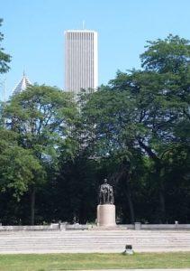Lincoln Statue, Grant Park