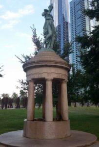 Rosenberg Fountain, Chicago