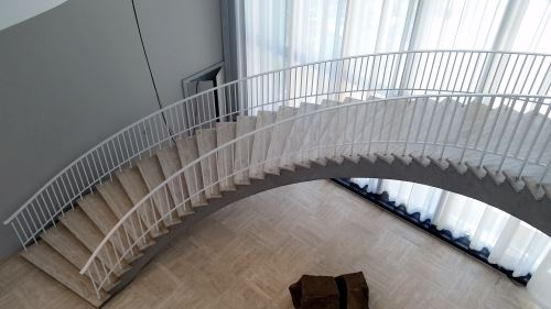 Art Institute Of Chicago Spiral Staircase