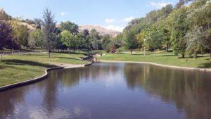 City Creek, Memory Grove Gardens Park, Salt Lake City