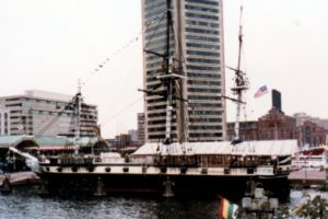 Constellation in Baltimore 1988