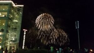 Navy Pier fireworks August 10, 2016
