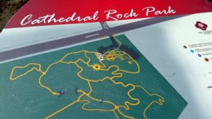 Cathedral Rock Park Map